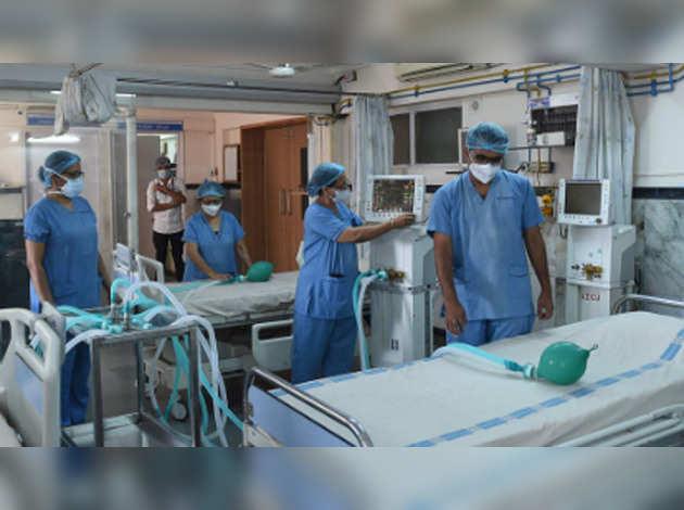 कोरोना अस्पतालों के 1.3 लाख बेड में सिर्फ 1.5 प्रतिशत का ही हो रहा इस्तेमाल