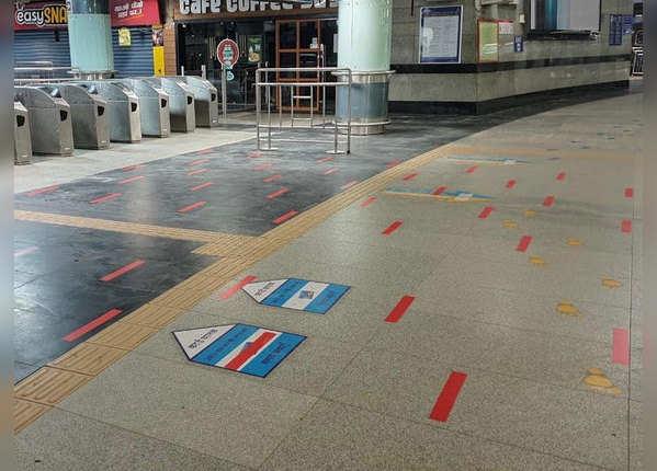 दिल्ली मेट्रो की तैयारी