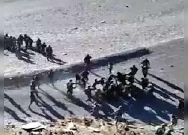 2017 में पैंगोंग सो में हुई थी भारत-चीन सैनिकों में हिंसक झड़प