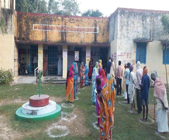 Bihar Chunav Phase 2 Polling