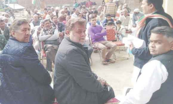 State Secretary and District Incharge Moninder Sood Valmiki
