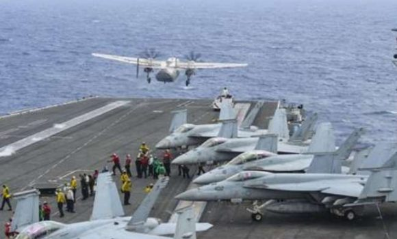 US carrier group enters South China Sea